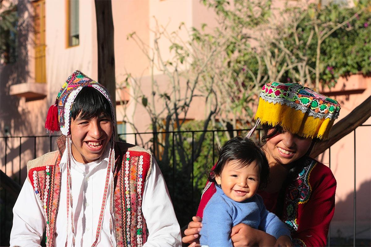tisseurs de la communauté d'Amaru - Pitumarka