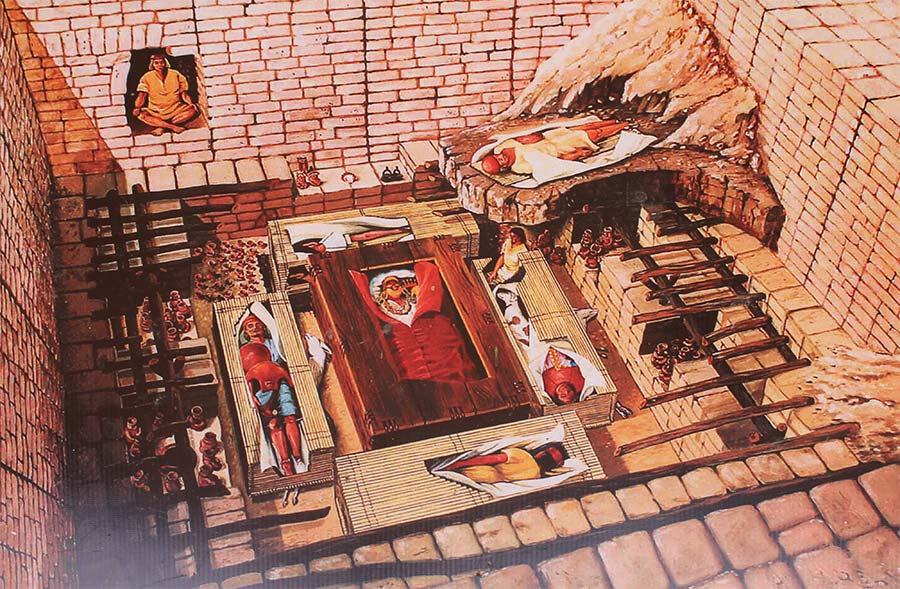 tombe culture pre inca pérou pitumarka