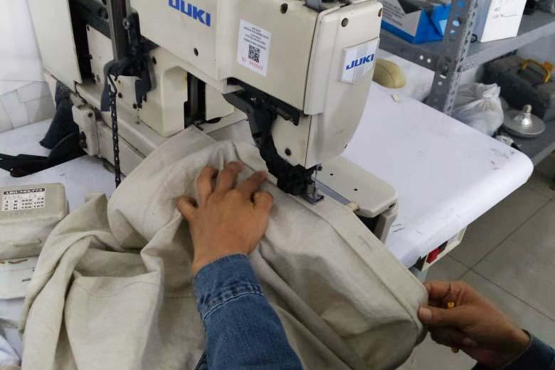 confection de la chemise femme en coton bio pitumarka