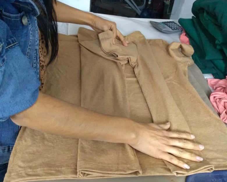 confection du tshirt en coton bio pitumarka