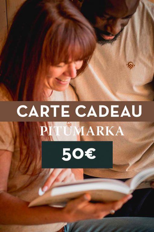 Faire plaisir à ses proches avec une carte cadeau pitumarka de 50€