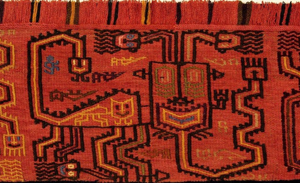 etole paracas en coton pima péruvien - pitumarka